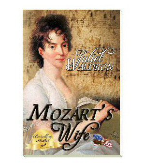 Mozart's wife book cover
