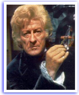 Jon Pertwee as the doc